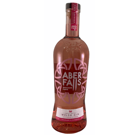 aber falls rhubarb and ginger welsh gin
