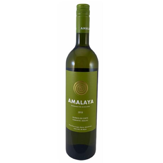 Bottle of Amalaya White Wine
