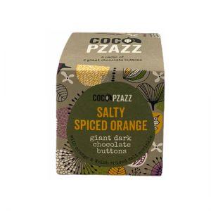 Salty Spiced Orange Giant Dark Chocolate Buttons