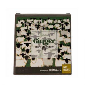 Coco Pzazz Ginger Dark Chocolate