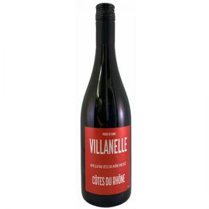 Bottle of Villanelle Cotes de Rhone